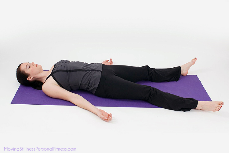 corpse pose for hot yoga
