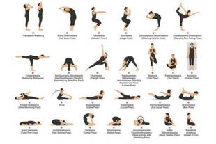 26 hot yoga poses