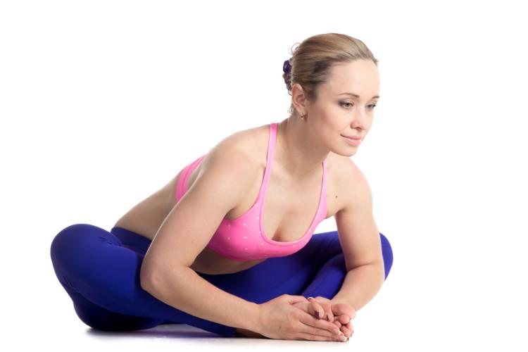 Butterfly Pose Yin Yoga