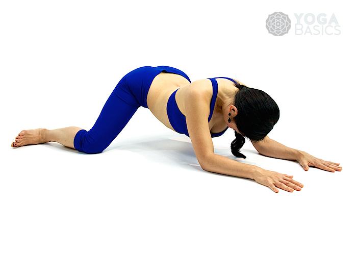 yin yoga caterpillar pose