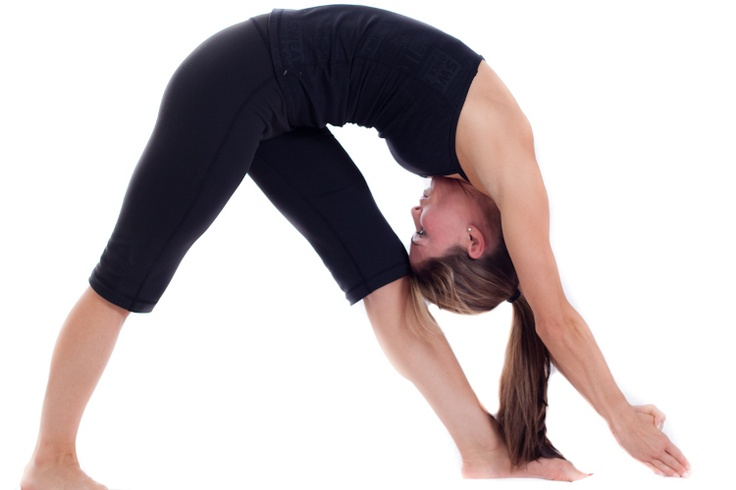 Standing Separate Head To Knee Pose)