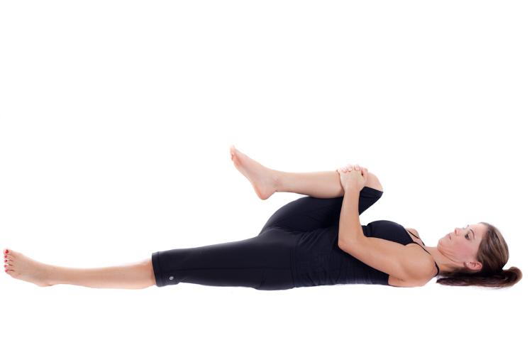 wind removing hot yoga pose