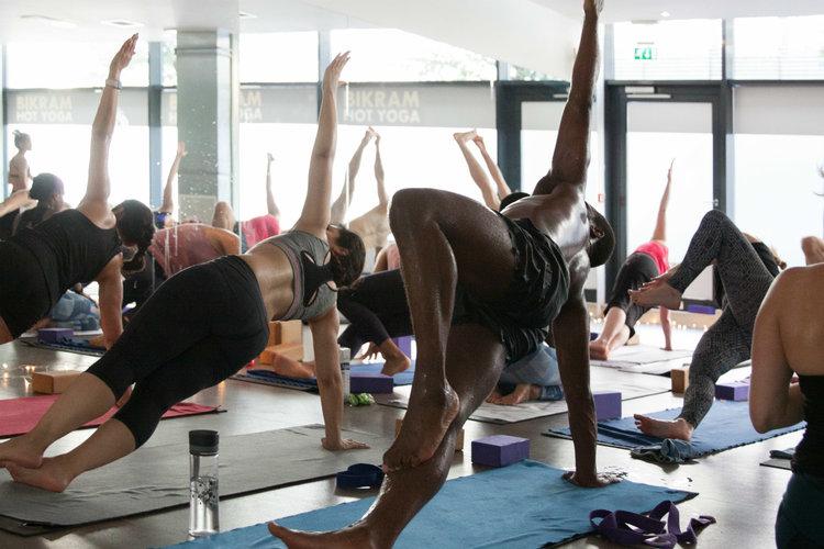 yoga classes hot yoga