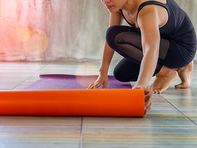what to look for in a yoga mat